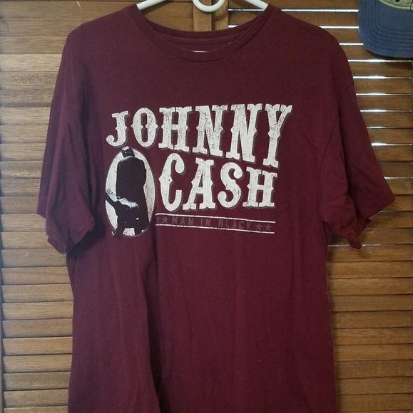 Zion Rootswear Tops - Johnny Cash 100% Cotton T-Shirt NWOT!